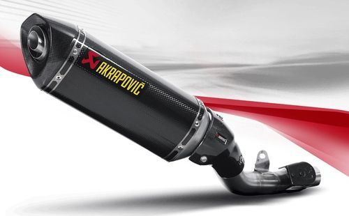 Akrapovic S-K8SO2-HRC Slip-On Line (Carbon) Kawasaki Z800