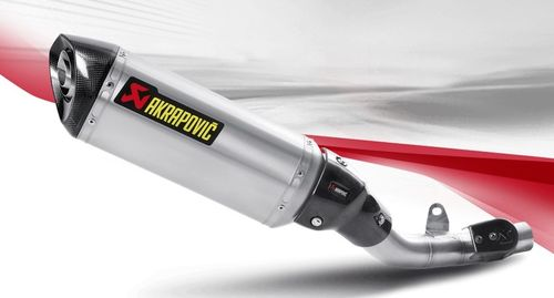 Akrapovic S-K8SO2-HRT Slip-On Line (Titanium) Kawasaki Z800