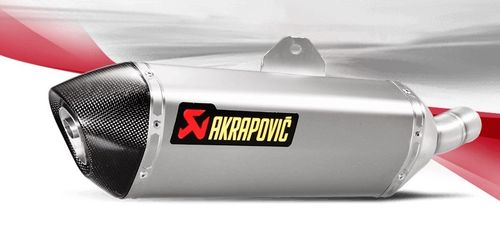 Akrapovic S-K2SO7-HRSS Slip-On Line  Kawasaki 250 SL