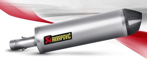 Akrapovic S-B8SO2-HBLT Slip-On Line (Titanium) BMW F800GS 08-16