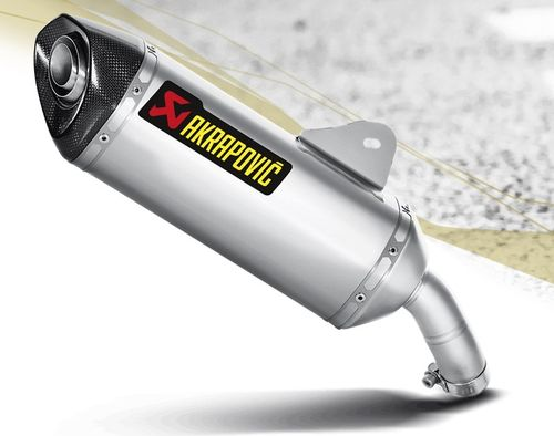 AKRAPOVIC S-B6SO2-HZSS Slip-On Line(SS) BMW C600 SPORT 12-15