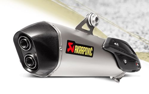 Akrapovic S-B6SO8-HZAAT Slip-On Line(Titanium) BMW C650 GT16