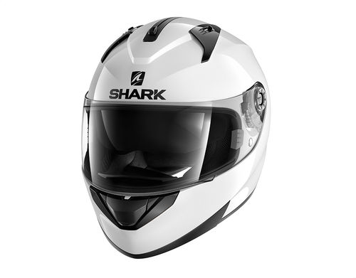 Casco Shark RIDILL 1.2 BLANK White Azur