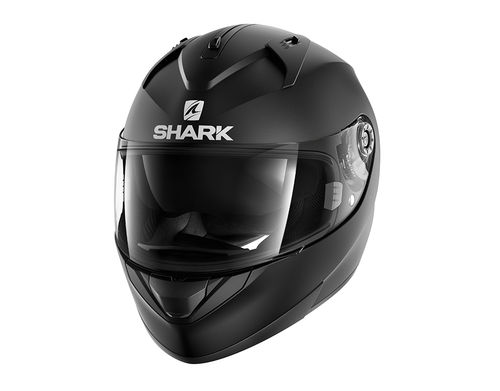 Casco Shark RIDILL BLANK MAT Black Mat