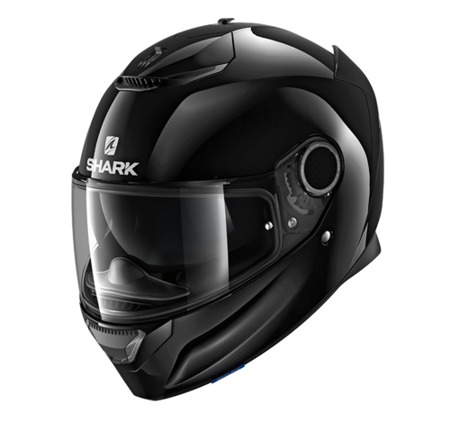 Casco Shark SPARTAN 1.2 BLANK Black
