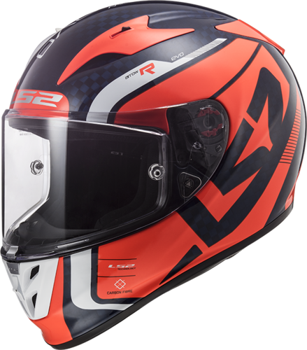 Casco LS2 ARROW C Evo FF323 STING Blue Fluo Orange