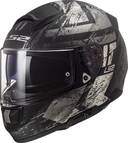 Casco LS2 VECTOR HPFC EVO FF397 HUNTER Matt Black Titanium