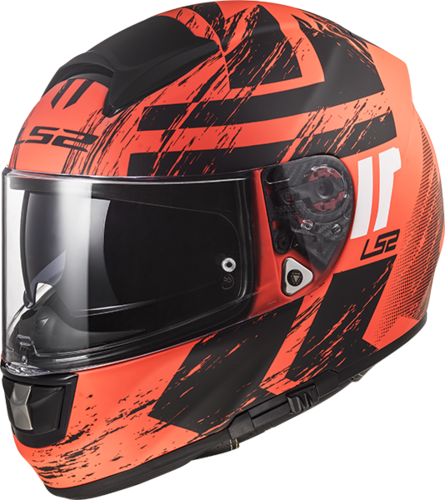 Casco LS2 VECTOR HPFC EVO FF397 HUNTER Matt Fluo Orange Black