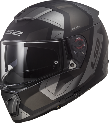 Casco LS2 BREAKER FF390 PHYSICS Matt Black Titanium