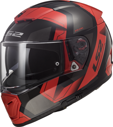 Casco LS2 BREAKER FF390 PHYSICS Black Red