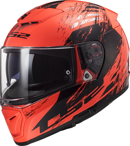 Casco LS2 BREAKER FF390 SWAT Fluo Orange Black