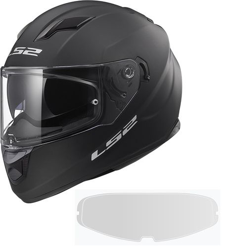 Casco LS2 STREAM EVO FF320 SOLID Matt Black PINLOCK