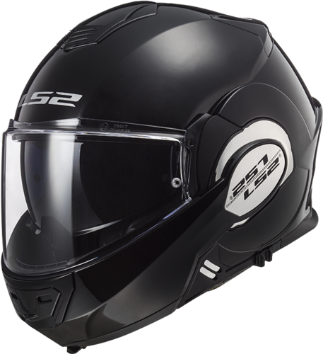 Casco LS2 VALIANT FF399 SOLID Black