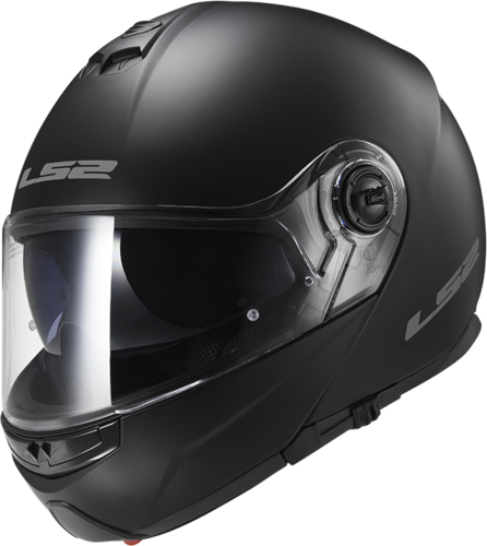 Casco LS2 STROBE FF325 SOLID Matt Black