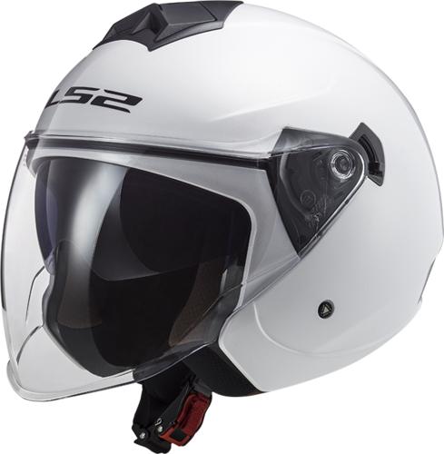 Casco LS2 TWISTER II OF573 SOLID White