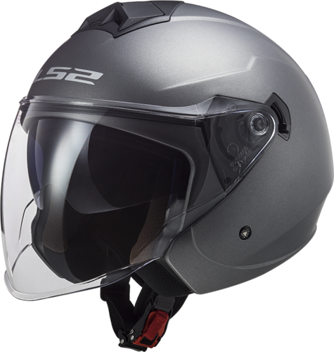 Casco LS2 TWISTER II OF573 SOLID Matt Titanium