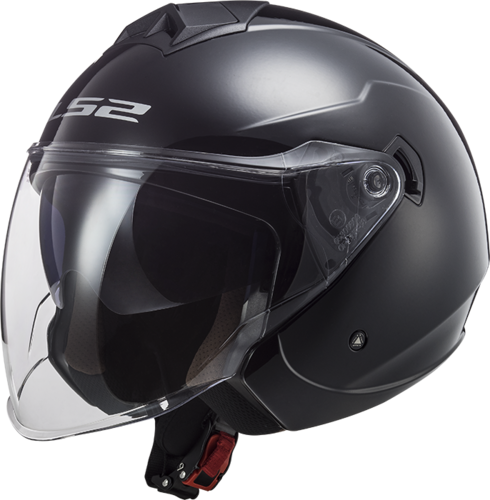 Casco LS2 TWISTER II OF573 SOLID Black