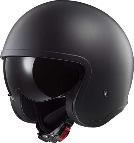 Casco LS2 SPITFIRE OF599 SOLID Matt Black