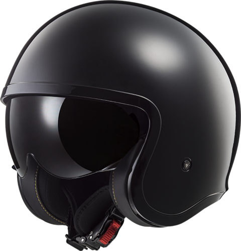 Casco LS2 SPITFIRE OF599 SOLID Black