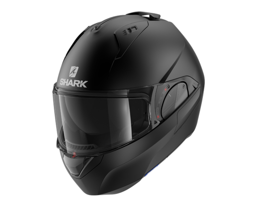 Casco Shark EVO-ES BLANK MAT Black Mat