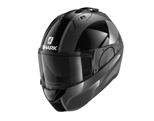 Casco Shark EVO-ES ENDLESS Anthracite Black Anthracite