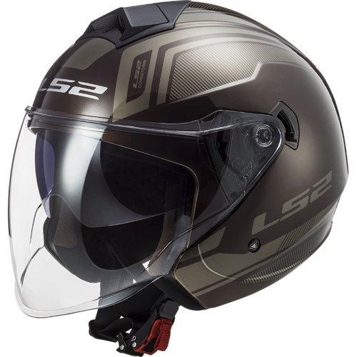 Casco LS2 TWISTER II OF573 FLIX Wood